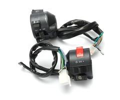 Motorcycle 7/8 Inch Handlebar Horn Turn Signal Hi/Lo Beam Kill Light Start Switch