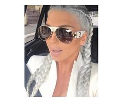 Fashion Gradient Mirror Ultraviolet Sunglasses