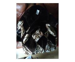 Real Fur coat. Brown colour. Vintage.
