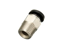 Pneumatic Connectors PC4-01 For 1.75mm 3mm PTFE Tube Quick Coupler Feed Inlet For J-head Fittings Re