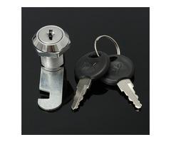 16/20/25/30mm Cam Lock Door Cabinet Mail Box Drawer Cupboard Locks with 2 Keys