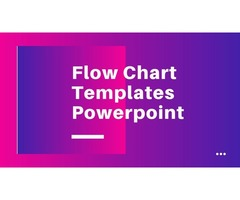 Flow Chart Templates Powerpoint