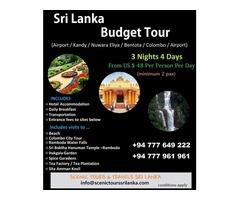 Signature Tour  – Scenic Tours Sri Lanka
