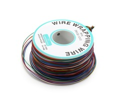200m 0.55mm 8 Color Circuit Board Single-Core Tinned Copper Electronic Wire Fly Wire Jumper Cable Du
