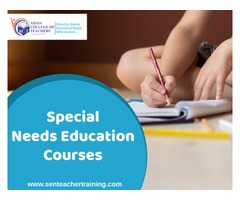 Special needs education courses