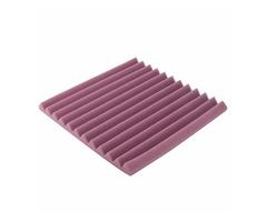 30x30x3cm Purple Acoustic Soundproof Foam Sound Absorbing Waved Sponge