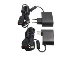 2.3m USB AC Adapter Power Supply Cable for Xbox 360 Kinect Sensor EU/US Plug