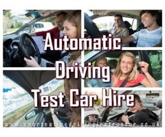 Perfect Source for Automatic Driving Test Car Hire in UK