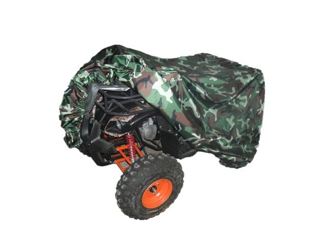 Quad Tractor ATV Cover Anti-UV Waterproof Heatproof Camouflage XL | free-classifieds.co.uk