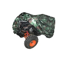 Quad Tractor ATV Cover Anti-UV Waterproof Heatproof Camouflage XL