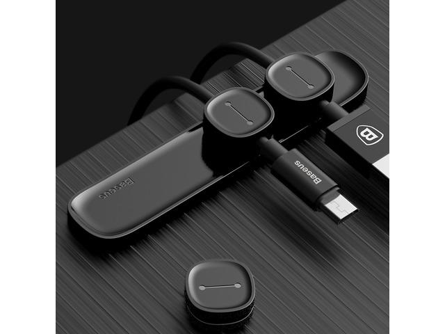 Baseus Magnetic Cable Clip Cable Holder Desktop Cable Management Cord Mount for iPhone 8 X Xiaomi. Description: Brand: Baseus Type:Bobbin Winders Material: ABS+TPU Size: 8.5*1.3*0.6cm Color: Blue, Red, Black Features: 1... | free-classifieds-canada.com