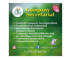 Company Secretarial Services UK | MW Accounting Services
