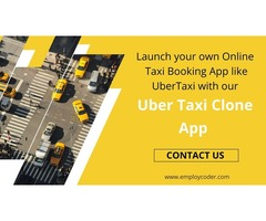 Uber Taxi Clone App Development - Employcoder
