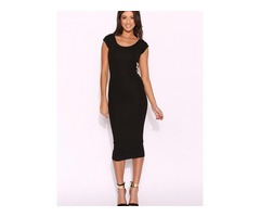 Women's Fashion Pencil Dress Bandage Strappy Back Ball party Evening Cocktail Bodycon