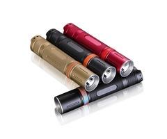 Mini 18650 Flashlight 10W 960LM 500M 2(U2) LED Linterna Tactical Flashlight