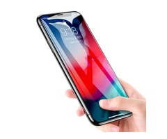 Rock 9D Curved Edge Tempered Glass Screen Protector For iPhone XS Max/iPhone 11 Pro Max Fingerprint