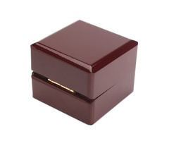 Wooden Jewelry Ring Storage Box