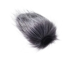 Microphone Furry Windshield Windproof Cover Artificial Fur Windscreen Wind Muff