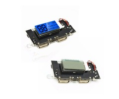 2Pcs Dual USB 5V 1A 2.1A Mobile Power Bank 18650 Battery Charger PCB Module Board