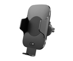 Intelligent Infrared QI Wireless Car Charger Automatic Telescopic Air Outlet Mobile Phone Bracket