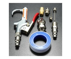 9pcs Compressor Air Duster Compressed Air Nozzle Blow Gun Kit Blower Cleaning Tool B Version