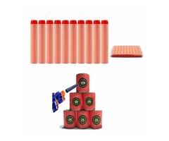 100PCS Refill Orange Bullets Dart For Nerf N-strike Elite Rampage Retaliator Series Blasters