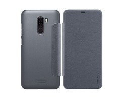 Nillkin Flip Smart Sleep PU Leather Full Protective Case With Magnetic For Xiaomi Pocophone F1