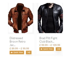 Online Leather Jackets