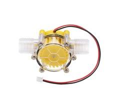 Yellow Translucent 12V/10W DC Water Flow Pump Generator Turbine Generator Hydroelectric Micro Hydro