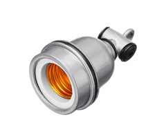 E27 Waterproof Ceramic Lampholder Bulb Adapter for Animal Pig Heating Light Bulb AC85-265V