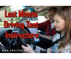 Learn Quickly from the Last Minute Driving Test Instructors