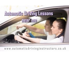 Automatic Driving Lessons near me is All You Need for New Skills