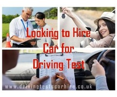 Are You Looking to Hire Car for Driving Test!