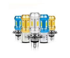 12-80V 36W 6500K H4 S2 Motorcycle LED Headlights Scooter 18 Bulbs COB Headlamp