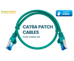 Buy Cat6a patch cables