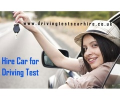 Hire Car for Driving Test at Last Minute Practical