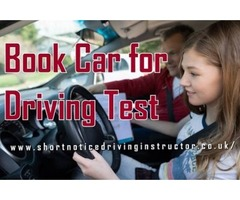 Book Car for Driving Test with an Expert Instructors