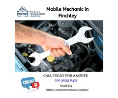 Hire a Mobile Mechanic in Finchley Now
