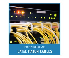 Best Quality Cat5e Patch Cables