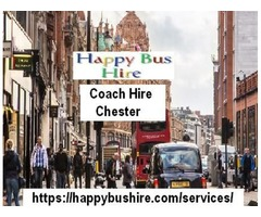 Planning a Long Journey? Get the Most Comfortable Coach Hire Chester with Happy Bus Hire