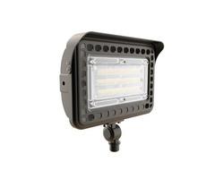 LED Flood Light Knuckle Mount - 6500LM - 5000K -50W