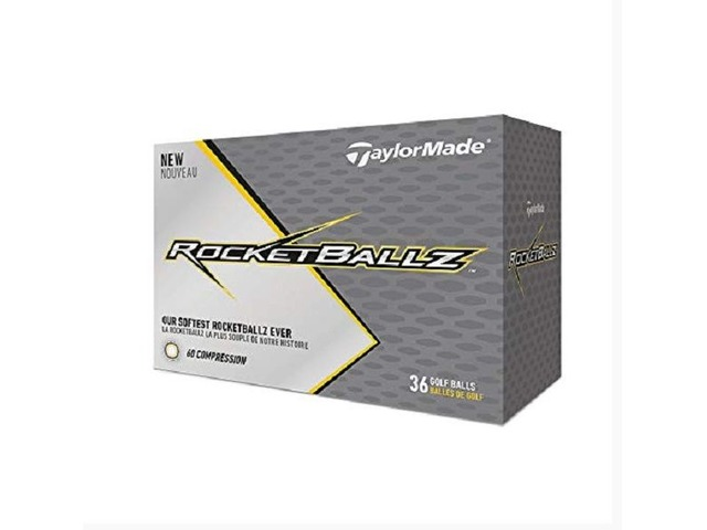 TaylorMade Rocketballz Golf Balls, White (Three Dozen) | free-classifieds.co.uk