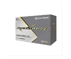TaylorMade Rocketballz Golf Balls, White (Three Dozen)