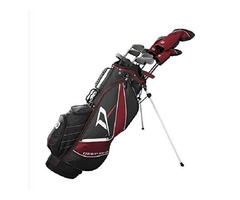 Wilson Staff Deep Red Tour Complete Golf Set Men's, Right Hand, Regular