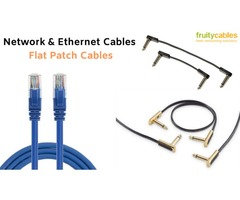 Buy Online Flat Patch Cables