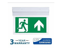 LED SAMSUNG Surface Emergency Exit Light | Smart Lighting Industries