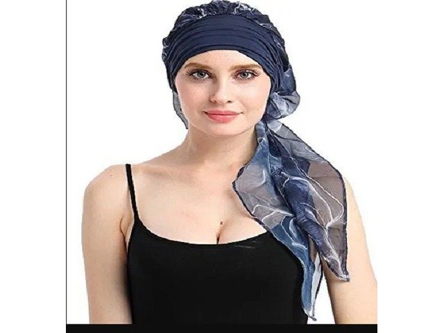 Chemo Hats Hair Loss Wig Accessory Scarf Bamboo Turban Headwraps Snug Headwear For Cancer | free-classifieds.co.uk