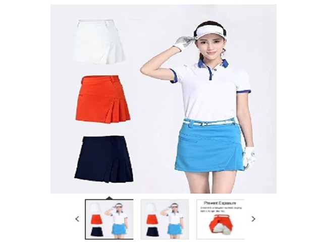 Acstar Women's Athletic Skort Lady's Stretchy Skirt    free-classifieds.co.uk