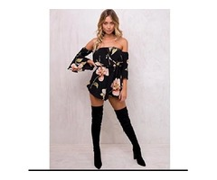 Ninasill Hot Sale ! Women Playsuit, Exclusive Jumpsuit Romper Floral Regular