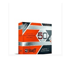 Wilson Staff Fifty Elite Golf Balls, Orange, Pack of 12 | free-classifieds.co.uk